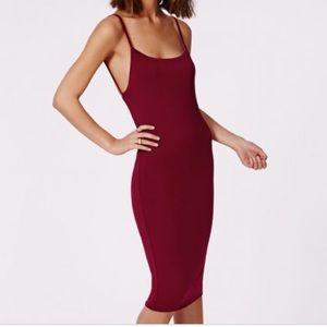 Misguided Midi Dress